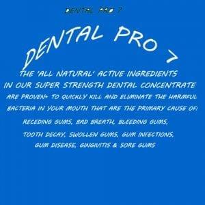 Eliminate Receding Gums with Dental pro 7