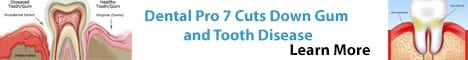Dental Pro 7 Cuts Down Gum