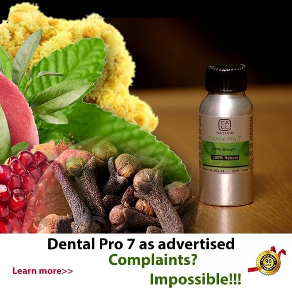 Dental Pro 7 as Advertised in Orange