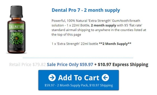 Purchase Dental Pro 7 - Sri Langka