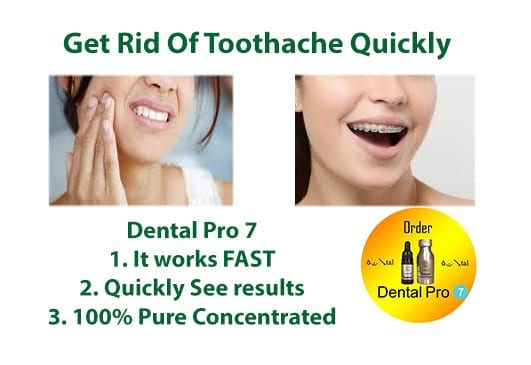 Get Rid Of Toothache Quickly