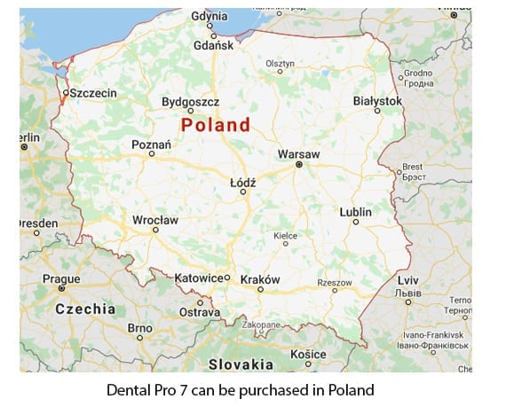 Buying Dental Pro 7 in Poland